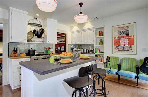 desain rumah retro merancang desain dapur vintage rumah minimalis rancangan