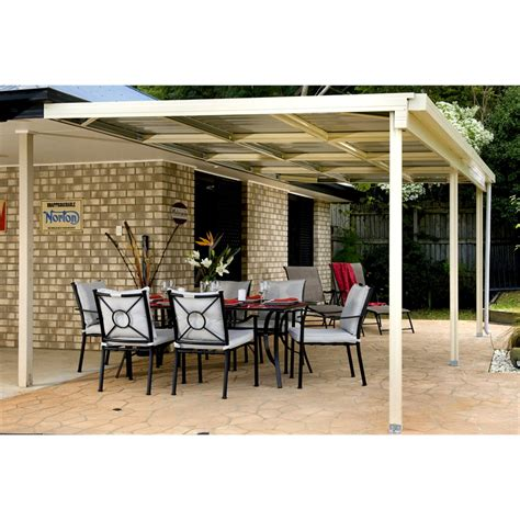 bunnings awnings awning absco 6x3x3m w50 cb cbawn63 bunnings warehouse