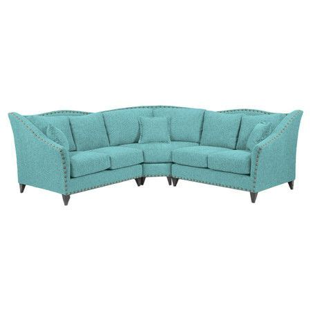 hadley sectional sofa at joss and main home pinterest