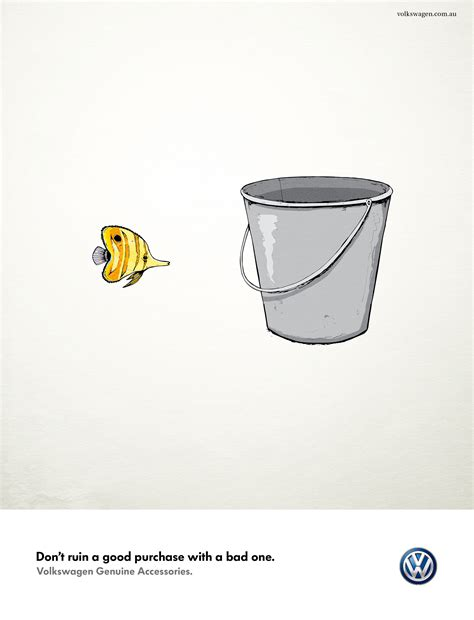 volkswagen ads 2014 print ad volkswagen accessories fish