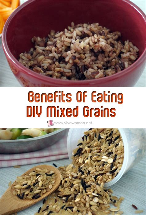 whole grains to replace rice diy mixed whole grains health and benefits