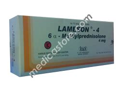 Obat Lameson 4 Mg by Lameson Tablet 4 Mg