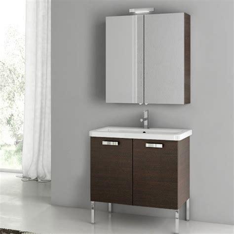 Play Vanity by Modern 30 Inch City Play Vanity Set With Ceramic Sink Glossy White Zuri Furniture