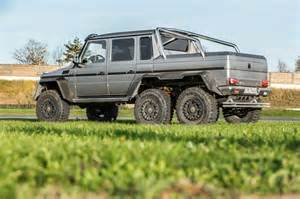Mercedes Truck 6x6 2014 Mercedes G63 Amg 6x6 Rear Three Quarter Photo 22
