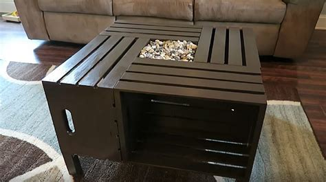 Wine Crate Coffee Table Diy Rustic Wine Crate Coffee Table An Upcycling Project