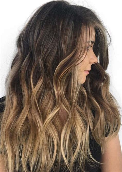 balayage hair colors for 2018 best hair color ideas trends in 2017 2018 20 best gradient blend balayage hair colors and highlights in 2018 hollysoly