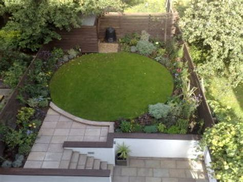 patio and garden ideas circle garden design ideas small