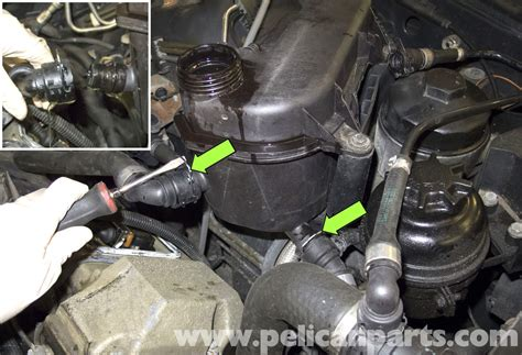 Bmw X5 Coolant by Bmw X5 Coolant Expansion Tank Replacement E53 2000 2006