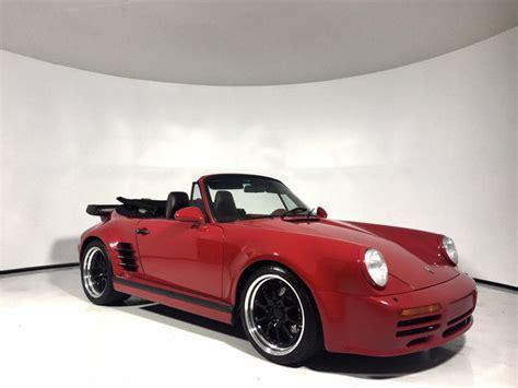 porsche 911 turbo for sale by owner 1988 porsche 911 turbo cabriolet owner 3 8l