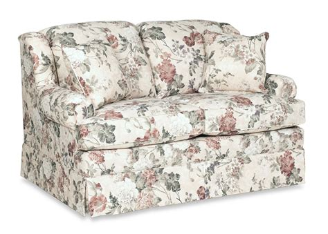Sofia Glider Loveseat Floral Levin Furniture