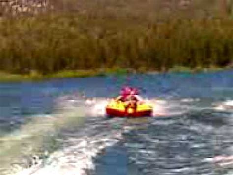 inner tube pulled by boat big bear lake boat pulled inner tube tubing crash youtube