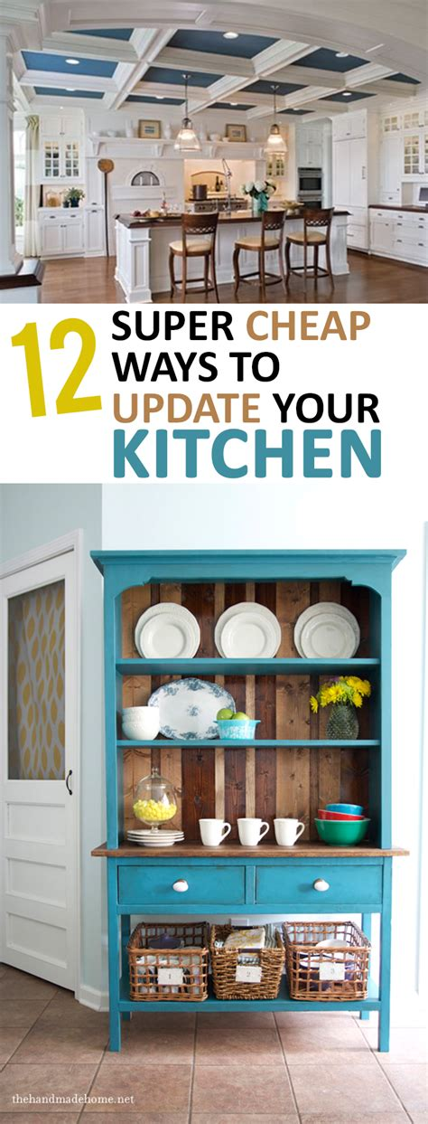 how to update your kitchen cabinets 12 cheap ways to update your kitchen