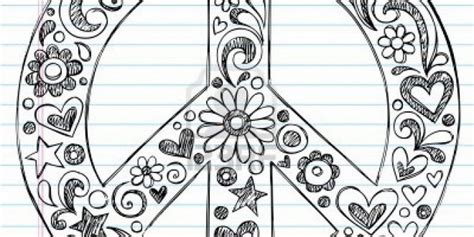 coloring pages of hearts and peace signs 6 best images of printable coloring pages peace hearts