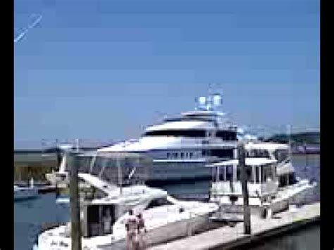 tiger woods yacht private  st augustine youtube