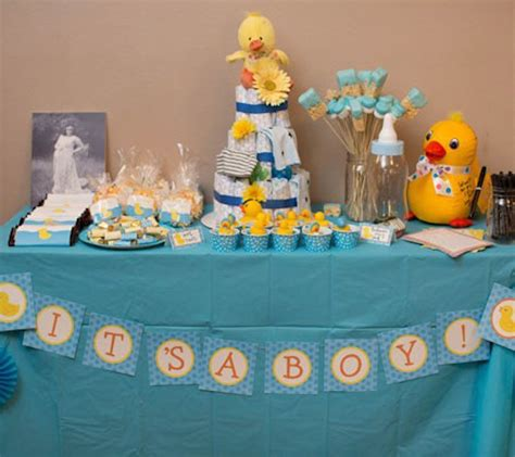 Duck Themed Baby Shower For by Baby Shower Themes For 2015 Canvas Factory