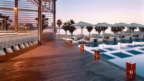 hotel w terrasse w hotel barcelona by ricardo bofill