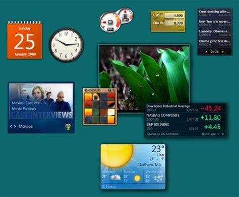 gadget de bureau windows 7 windows 8 gadgets to go