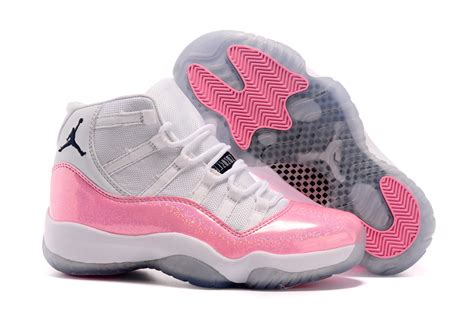 Air 11 White Colourful 2015 air 11 gs custom white and pink 11s for sale