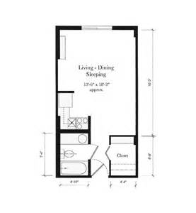 one bedroom efficiency apartment plans 54 best images about home studio apartment on pinterest