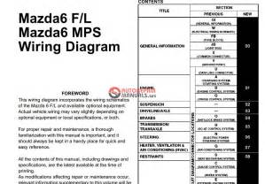 mazda 6 gg 2002 2007 wiring diagrams auto repair manual forum heavy equipment forums