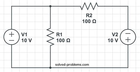 resistor circuit problems and solutions find currents using kvl solved problems