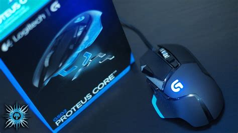 Mouse Gaming Logitech G502 logitech g502 proteus tunable gaming mouse unboxing overview