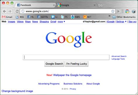 google wallpaper settings how do i set a custom background for google ask dave taylor