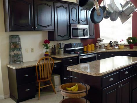 Some Kinds Of The Ideas In Staining Kitchen Cabinets Staining Kitchen Cabinets Darker