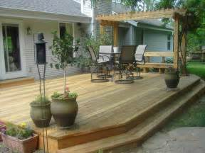 how to repair how to build a free standing deck