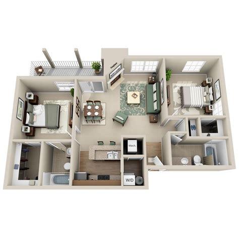 2 schlafzimmer 2 bath apartment grundrisse 262 besten house plans bilder auf architektur