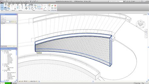 slanted curtain wall revit create sloped curtain wall revit curtain menzilperde net