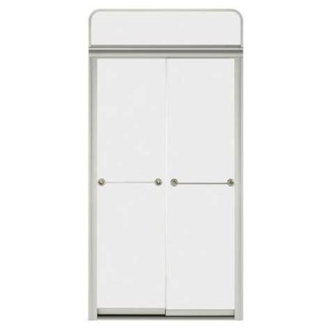 4 Ft Shower Doors Kohler Senza Steam Bypass Shower Door For Sonata 4 Ft Shower Module With Frosted Glass In Matte