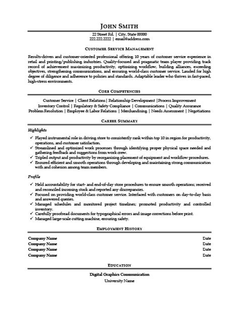 make your a service service manager resume berathen