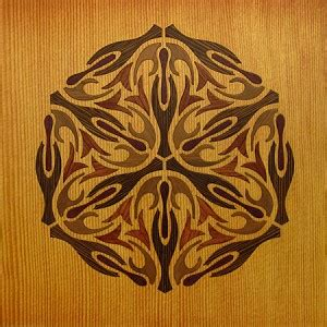 Dentrassi Wood Marquetry Kit Art