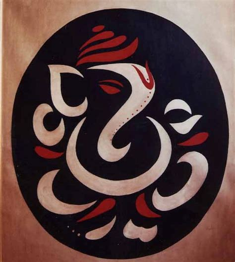 ganesha tattoo abstract top abstract ganesha paintings images for pinterest tattoos
