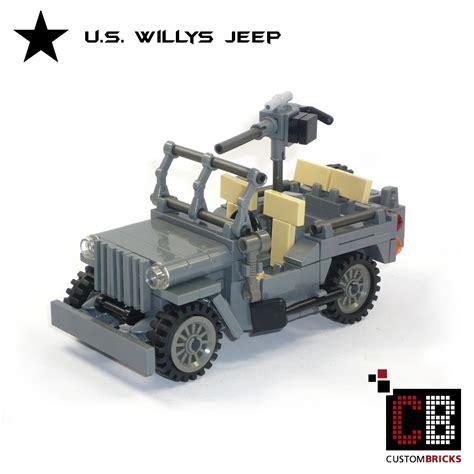 jeep instructions custombricks de ww2 wwii wehrmacht willys jeep mit