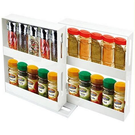 spice rack organizer 2 tier spice rack cabinet holder shelf kitchen organizer
