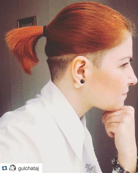 short haircut with ear showing 591 besten undercut haircut bilder auf pinterest