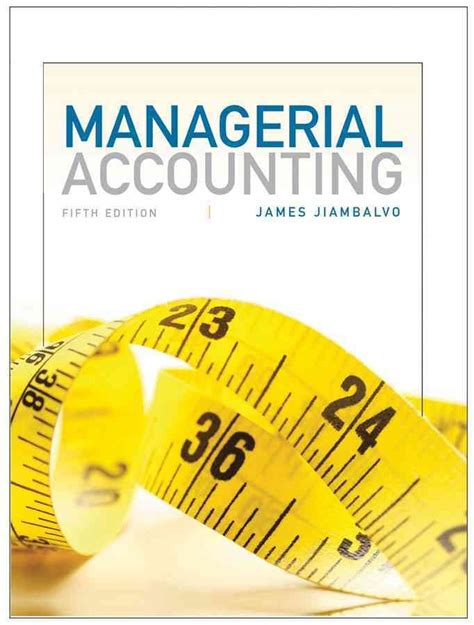 managerial accounting binder ready version books managerial accounting jet