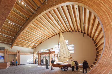 thompson exhibition building structure architect magazine
