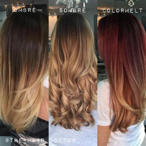 melt vs ombre ombre sombre and colormelt how do they differ modern