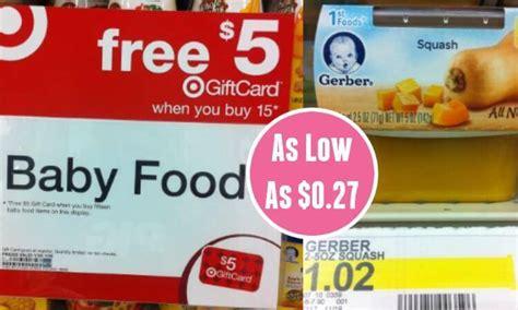 gerber baby food printable coupons 2016 gerber baby food coupons as low as 0 27 at target