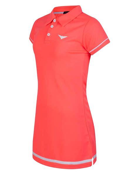 pink polo tennis dress junior tennis clothing