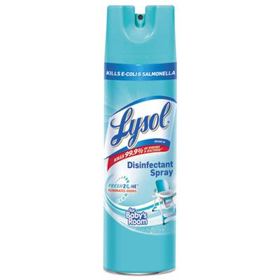 can i spray lysol on my couch printer