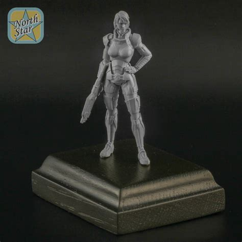 figure model kits femshep resin kit collection figure mass effect gift for