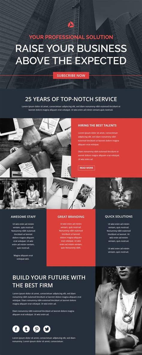 business newsletter templates sample
