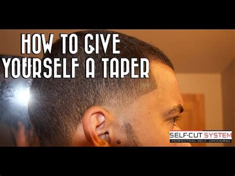 clip hay how to give yourself a fade haircut with