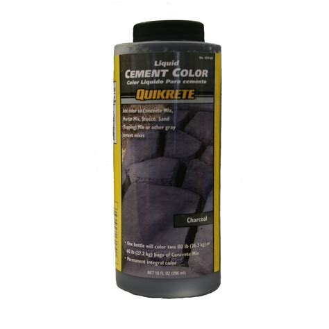 quikrete 10 oz liquid cement color charcoal 131700