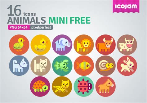 Home Design 3d Free For Pc 16 kind cartoon animals mini icons over millions vectors