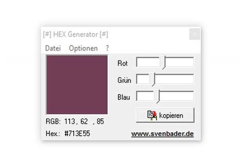 hex color generator hex generator freeware de